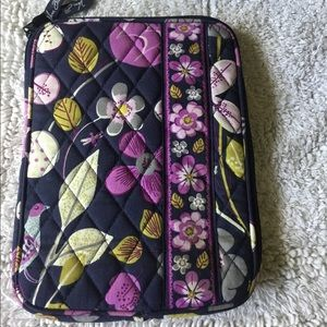 Vera Bradley mini padded zip bag